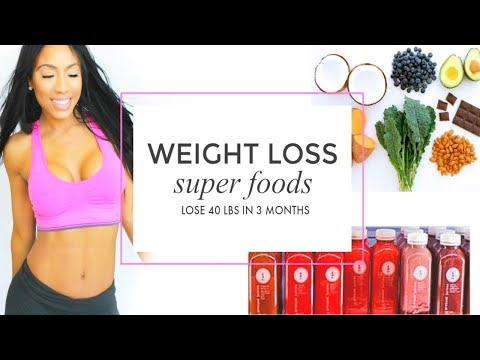 Lose 40 Pounds In 3 Months! | Diet Plan + Weight Loss Foods For Women