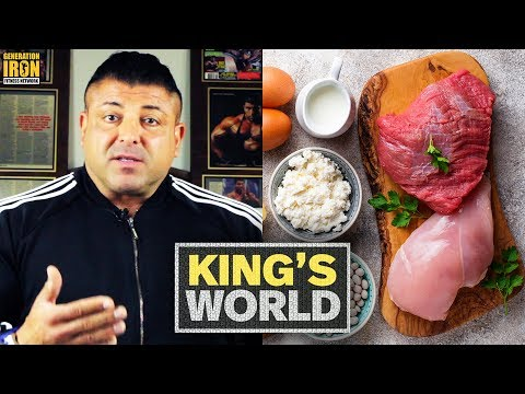 How To Perfect Offseason Vs Contest Prep Bodybuilding Diets | King's World