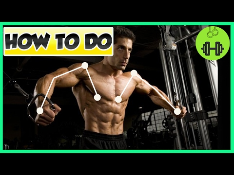 How To Do Cable Crossovers Correctly | Chest Gym Exercise