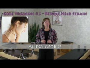 Core Fitness #3 – Reduce Neck Pain with Pilates Matwork Exercises