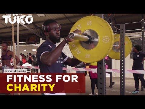 Kenya's most handsome man using fitness for charity | Tuko TV