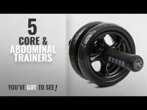 Top 10 Core & Abdominal Trainers [2018]: H&S® Ab Abdominal Exercise Roller With Extra Thick Knee