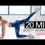 20 MIN BOOTY WORKOUT // No Equipment | Pamela Reif