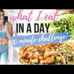 WHAT I EAT IN A DAY || 10 MINUTE MEALS – QUICK, EASY RECIPES!