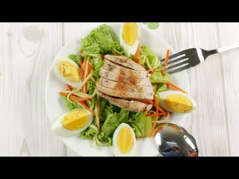 Chicken Salad Recipe With Eggs For Weightloss | Delicious Meals Ideas | Foodiy