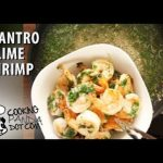 Healthy Recipe: Cilantro Lime Shrimp- Cooking Panda