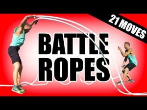 21 BEST BATTLE ROPES EXERCISES   Battling Rope Exercises For Muscle Ropes Workouts