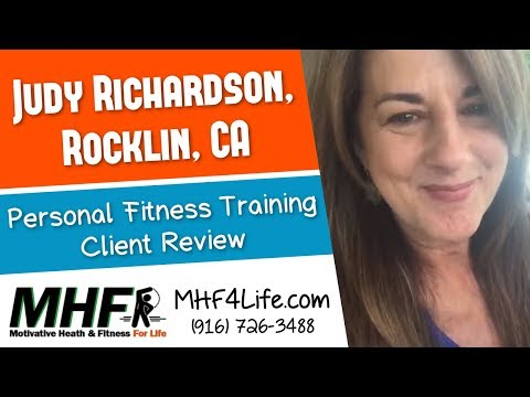 Certified Personal Trainer Review by Judy R. in Rocklin, CA for Motivative Health & Fitness