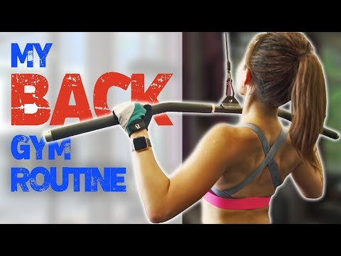 My Back Gym Routine | 7 Best Exercises | Joanna Soh