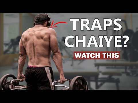 7 Best Exercise For Traps | How To Grow Traps (Hindi)