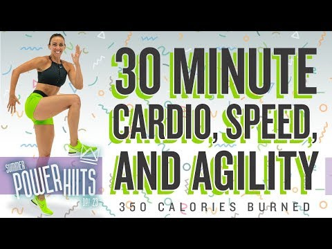 30 Minute Cardio, Speed, and Agility Workout! NO EQUIPMENT! 🔥Burn 350 Calories!* 🔥Sydney Cummings