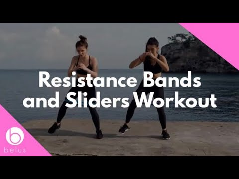 Resistance Bands and Sliders Workout – Belus Active Fitness Equipment
