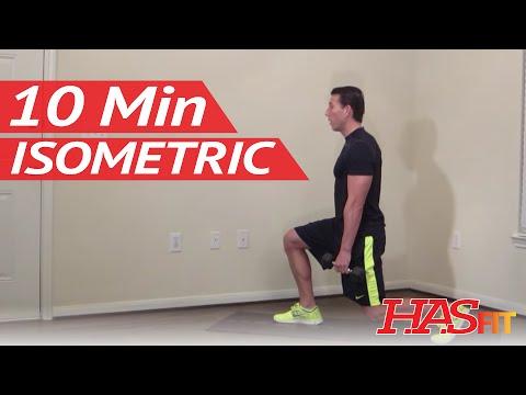 10 Minute Isometric Workout – HASfit Isometric Training Exercises – Isometrics Exercise
