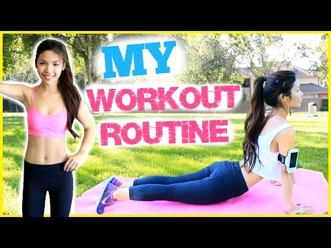 My Workout Routine & Diet Tips! How I Stay Fit & Motivated! | MissTiffanyMa