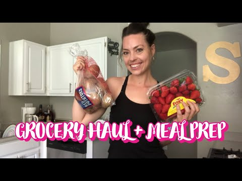 GROCERY HAUL + MEAL PREP (Breakfast, Dinner + Dessert Prep!) ++ How I'm Changing My Meal Prep Game!