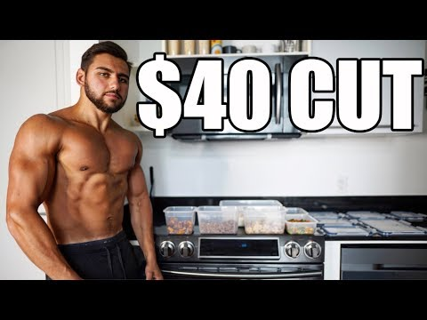 $40 FOR A WEEK OF CUTTING: Budget Meal Prep to Get Shredded
