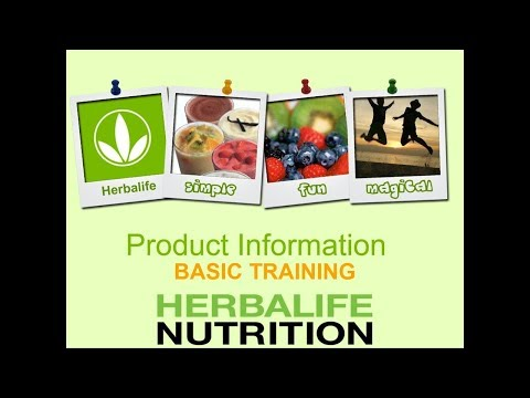 Herbalife Nutrition Product Information Basic Training (About All Products Available in India)