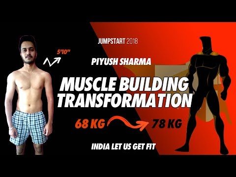 Student's 3 month Diet and Workout Plan to get muscular.  Weight Gain Transformation.