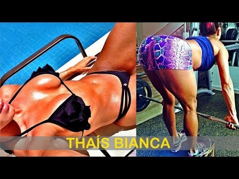 THAÍS BIANCA: Fitness Model: Exercises and workouts @ Brazil