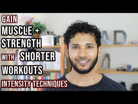 Intensity Techniques to Gain Muscle + Strength Faster   Workout Tips – Busy College/Work   Save Time