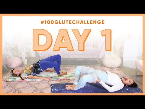 Day 1: Butterfly Bridges! | 100 Glute Challenge w/ Physics Girl