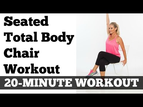 Seated Exercises for Abs, Legs, Arms | Full Length 20 Minute Chair Workout
