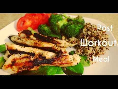 Best Post Workout 💪 Meal for Weight Loss | Grilled Chicken, Quinoa, Broccoli