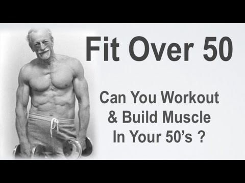Can You Build Muscle After 50 Years Old?