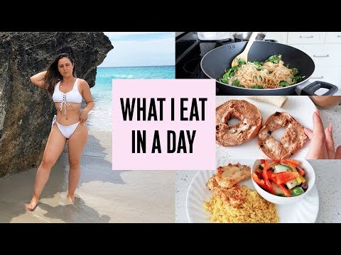 WHAT I EAT IN A DAY TO LOSE WEIGHT – 165lbs to 128lbs!