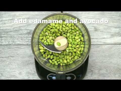 Recipe  Edamame Guacamole -nutrition