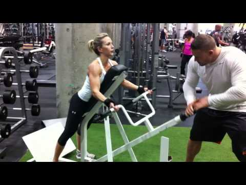 Back & Shoulder Exercises For Women by a Female Fitness Model
