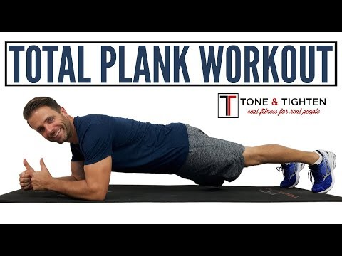 The Best Total Plank Workout – 8 minutes of plank work for toned abs and a strong core.