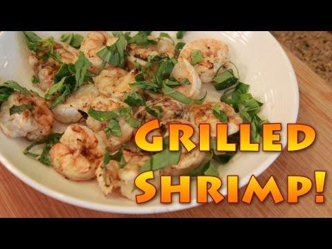 Jon's Grilled Shrimp Recipe!