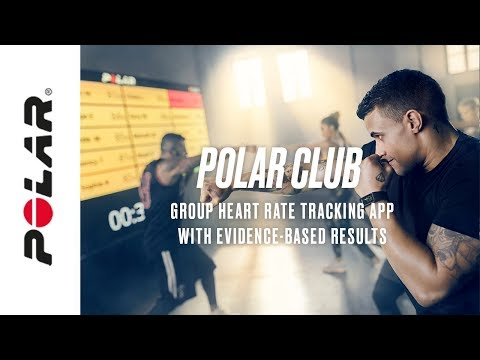 Polar Club   Heart rate based group fitness and exercise app