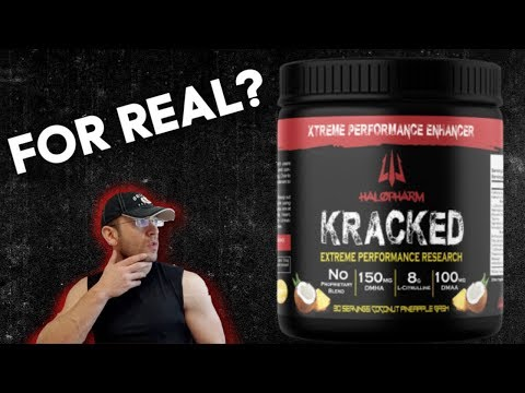 The Real DMAA Deal? 🙄 Halopharm KRACKED Pre Workout Review