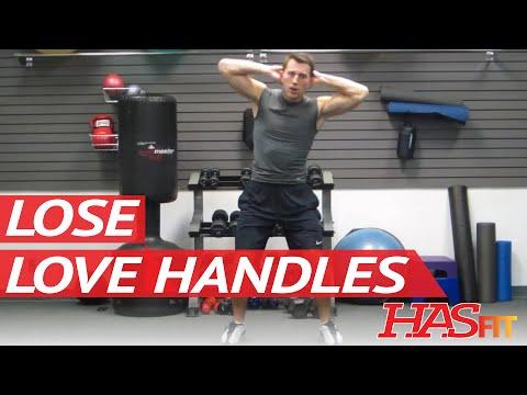 Get Rid of Love Handles Workout | BEST Oblique Exercises | Lose or Loose Love Handles HASfit 120611