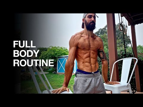 Full Body Bodyweight Workout  (3 Strength Exercises)