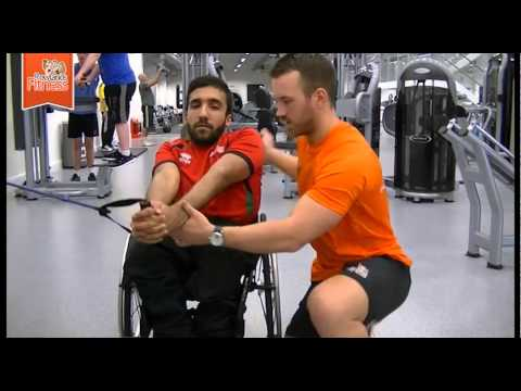 Abs Exercises for Disabled or Wheelchair users