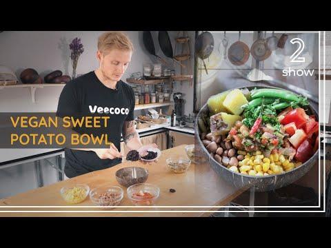 Mexican Sweet Potato Bowl | Vegan Fitness Recipe