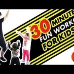 Kids fitness workout, 30 minute exercise routine!