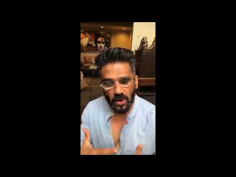 Suniel Shetty Giving Fitness Tips on Instagram.