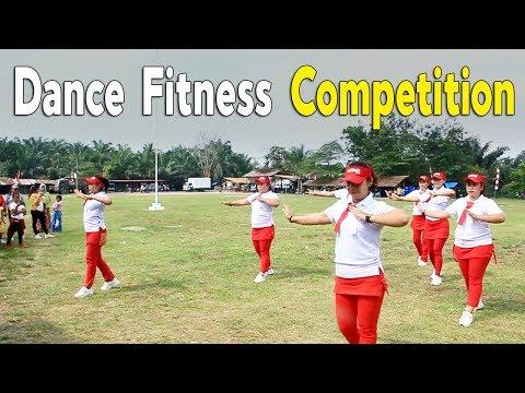 Dance Fitness Competition Gebyar HUT Kemerdekaan RI ke 74   Sanggar Senam Energic Mom's