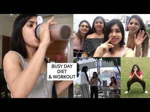 Manage Weight loss DIET Workout on BUSY schedule | Weekend VLOG ft Somya , Mukti & Manju