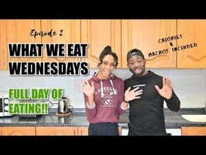 What We Eat Wednesdays – 1800 calories – Low Carb  – Full Day of Eating – Ep.2