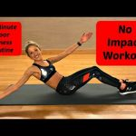 No Impact Workout. 35 Minute Floor Barre Routine.