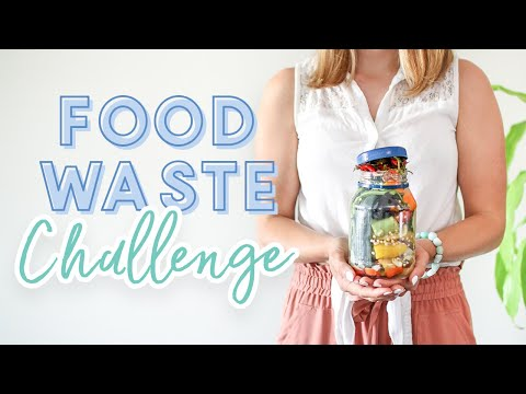 What I Eat in a Week | Food Waste Challenge