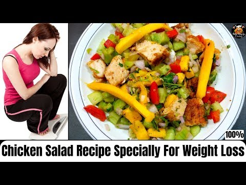 Chicken Salad Recipe | Healthy & Tasty Recipe | Specially For Weight Loss.