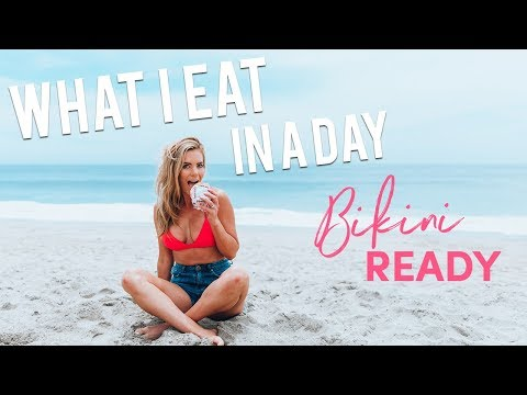 WHAT I EAT IN A DAY | How I Eat Burgers to Get BIKINI READY!