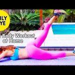 EMILY SKYE – Fitness Model: At-Home Exercises – Strength training for the entire body @ Australia