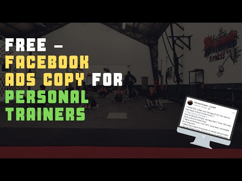 FREE – Facebook Ads Copy For Personal Trainers, boot camp & fitness business owners